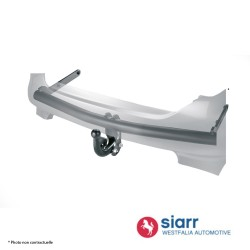 Attelage Subaru Trezia à partir du 3/2011 + faisceau multiplexé [Rotule avec outils]
