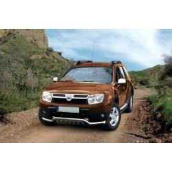 Pare-buffle avec barre de Spoiler et plaque de protection Dacia Duster