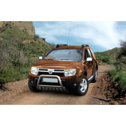 Pare-buffle avec plaque de protection Dacia Duster