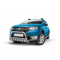 Pare-buffle avec plaque de protection Dacia Sandero Stepway (2012 - 2016)
