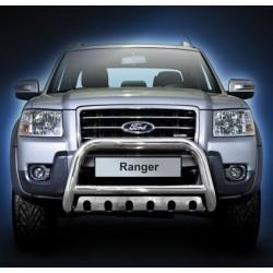 Pare-buffle avec plaque de protection Ford Ranger (2007-2012)