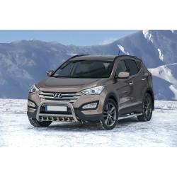 Pare-buffle avec grille Hyundai Santa Fe (2012 -)