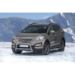 Pare-buffle avec barre transversale Hyundai Santa Fe (2012 -)