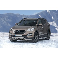 Pare-buffle barre de Spoiler et Grille Hyundai Santa Fe (2012 -)
