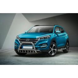 Pare-buffle avec grille Hyundai Tucson (2015 -)