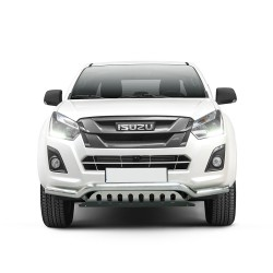 Pare-buffle barre de Spoiler et plaque de protection Isuzu D-Max (2017-)