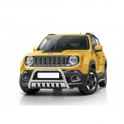 Pare-buffle avec plaque de protection Jeep Renegade (2014-)