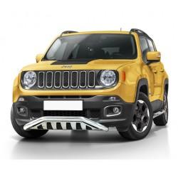 Pare-buffle barre de Spoiler et plaque de protection Jeep Renegade (2014-)