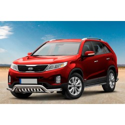 Pare-buffle barre de Spoiler et plaque de protection KIA Sorento (2012-2015)