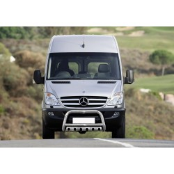 Pare-buffle avec plaque de protection Mercedes Sprinter (2006-)
