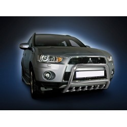 Pare-buffle avec grille Mitsubishi Outlander (2009-2012)