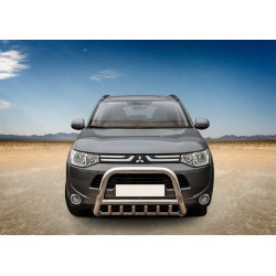 Pare-buffle avec grille Mitsubishi Outlander (2012-2015)