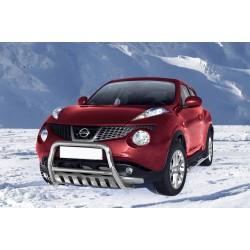 Pare-buffle avec plaque de protection Nissan Juke (2010-)