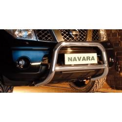 Pare-buffle avec barre transversale Nissan Navara (2005-2010)