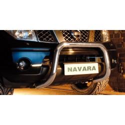 Pare-buffle sans barre transversale Nissan Navara V6 (2010-2015)
