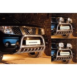 Pare-buffle avec grille Nissan Pathfinder (2005-2010)
