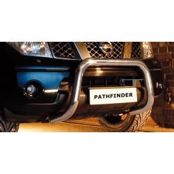 Pare-buffle sans barre transversale Nissan Pathfinder (2005-2010)