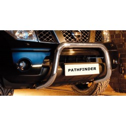 Pare-buffle sans barre transversale Nissan Pathfinder V6 (2010-)