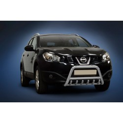 Pare-buffle avec grille Nissan Qashqai (2010-2013)