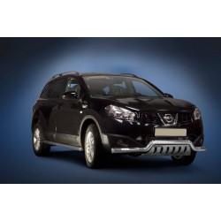 Pare-buffle barre de Spoiler et plaque de protection Nissan Qashqai (2010-2013)