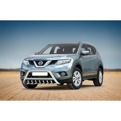 Pare-buffle avec grille Nissan X-Trail (2014-)