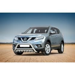 Pare-buffle avec plaque de protection Nissan X-Trail (2014-)