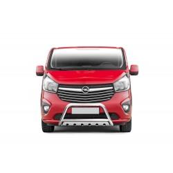 Pare-buffle avec plaque de protection Opel Vivaro (2014-)
