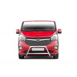 Pare-buffle avec barre transversale Opel Vivaro (2014-)