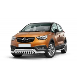 Pare-buffle barre de Spoiler et plaque de protection Opel Crossland X (2017-)