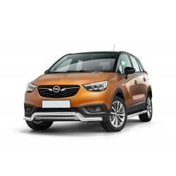 Pare-buffle barre de Spoiler Opel Crossland X (2017-)