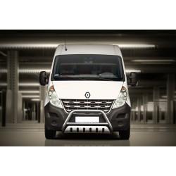 Pare-buffle avec plaque de protection Renault Master (2010-)