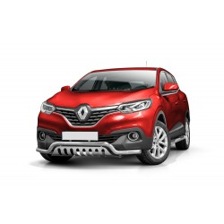 Pare-buffle barre de Spoiler et plaque de protection Renault Kadjar (2016 -)