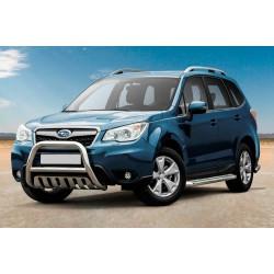 Pare-buffle avec plaque de protection Subaru Forester (2013-)
