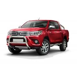 Pare-buffle avec barre transversale Toyota Hilux (2015-)