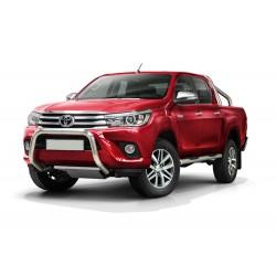 Pare-buffle sans barre transversale Toyota Hilux (2015-)