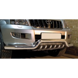 Pare-buffle barre de Spoiler et Grille Toyota Land Cruiser 120 (2002-2009)