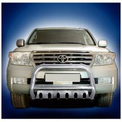 Pare-buffle avec plaque de protection Toyota Land Cruiser V8 (2007-2012)