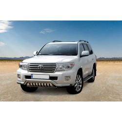Pare-buffle barre de Spoiler et plaque de protection Toyota Land Cruiser V8 (2012-)