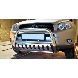 Pare-buffle avec plaque de protection Toyota RAV4 (2006-2010)