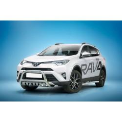 Pare-buffle avec plaque de protection Toyota RAV4 (2016-)