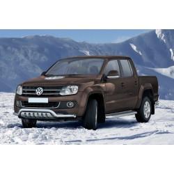 Pare-buffle barre de Spoiler et plaque de protection Volkswagen Amarok (2009-2016)
