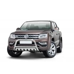 Pare-buffle avec plaque de protection Volkswagen Amarok V6 (2016 -)