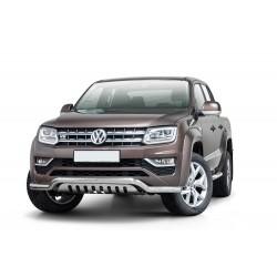 Pare-buffle barre de Spoiler et plaque de protection Volkswagen Amarok V6 (2016 -)
