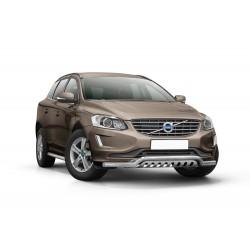 Pare-buffle barre de Spoiler et plaque de protection Volvo XC60 (2014-)