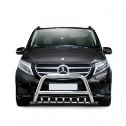 Pare-buffle avec grille Mercedes V-class (2014-)