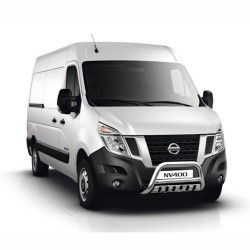 Pare-buffle avec plaque de protection Nissan NV400 (2010-)