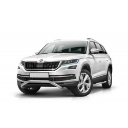Barre pare buffle courte sans plaque de protection Skoda Kodiaq (2016-)