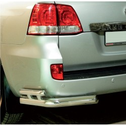 Coins de protection arrière double Toyota Land Cruiser V8 (2008-2012)