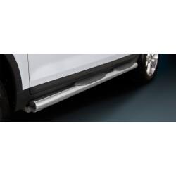 Marchepieds Ford Kuga (2008 - 2013) - Latéraux avec revêtement en plastique anti-dérapant -