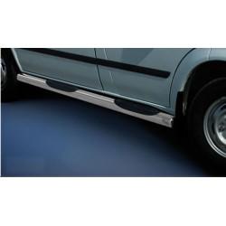 Marchepieds Ford Transit (2006 - 2014) - Latéraux avec revêtement en plastique anti-dérapant -